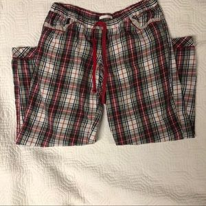 Victoria's Secret flannel pajama bottoms